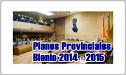 Planes Provinciales Bienio 2014-2015